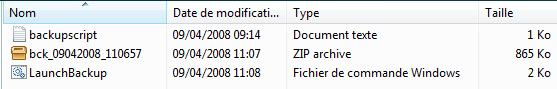 Sauvegarder son site FTP avec WinSCP et 7-ZIP automatiquement. Idéal pour wordpress, joomla, dotclear et autres blogs