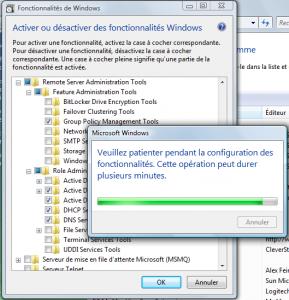 Ajout de fonctionnalités dans Windows Vista SP1