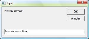 Input Box VBS Script