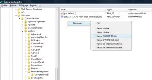 Petite astuce - Comment Ajouter icones (icône) internet explorer ( IE 7) sur le bureau ( desktop ) windows vista - Base de registre regedit