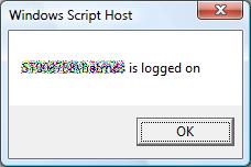 Script VBS WMI qui est connecté