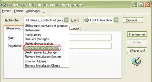 Recherche personnalisée - Custom Query