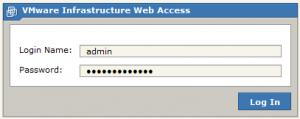 vmware site authen 300x119 Comment installer VMware Server ?