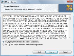 vmware site install2 300x227 Comment installer VMware Server ?