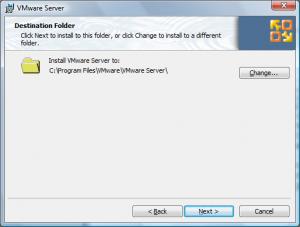 vmware site install3 300x227 Comment installer VMware Server ?