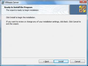 vmware site install6 300x227 Comment installer VMware Server ?