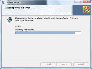 vmware site install7 300x227 Comment installer VMware Server ?