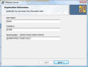 vmware site install8 300x227 Comment installer VMware Server ?