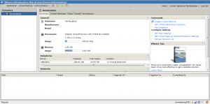 vmware site interface 300x149 Comment installer VMware Server ?