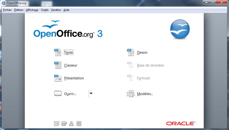 Installer la suite bureautique openoffice 3 pour windows - Open office francais windows 8 ...