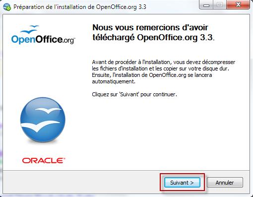 Installer la suite bureautique openoffice 3 pour windows - Open office derniere version ...