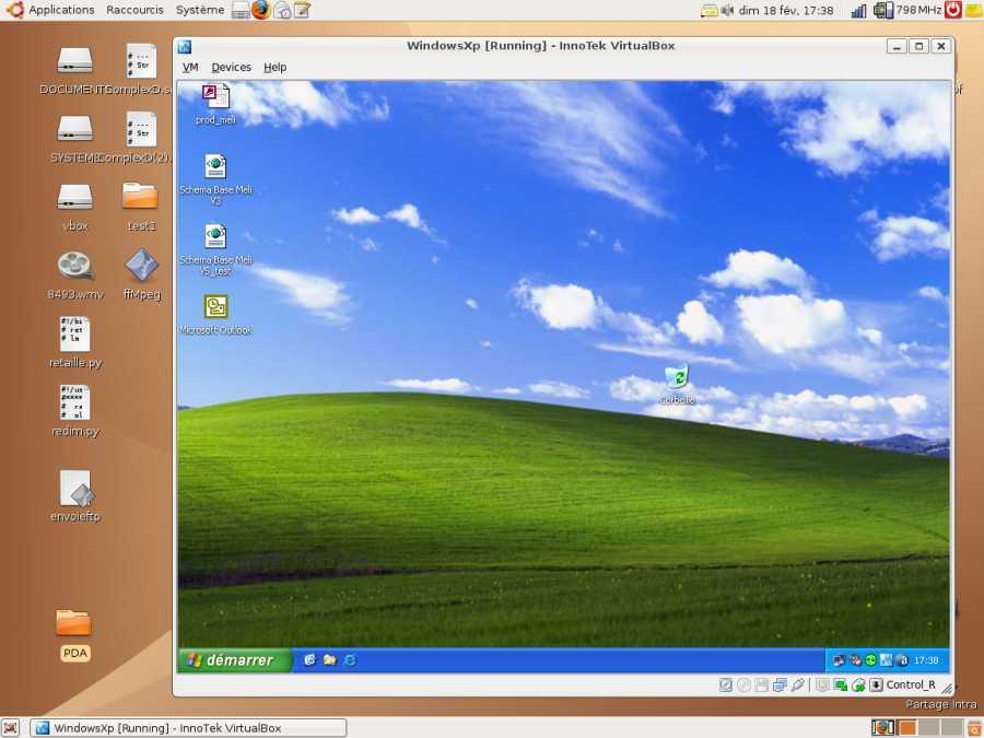 VirtualBox - La virtualisation par ORACLE