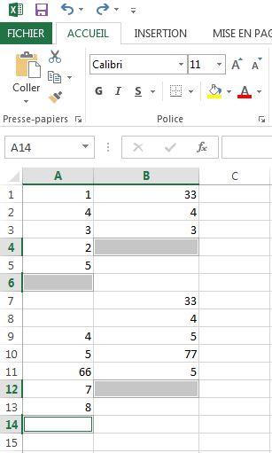 Réaliser des totaux de plusieurs plages de données simultanément dans Excel