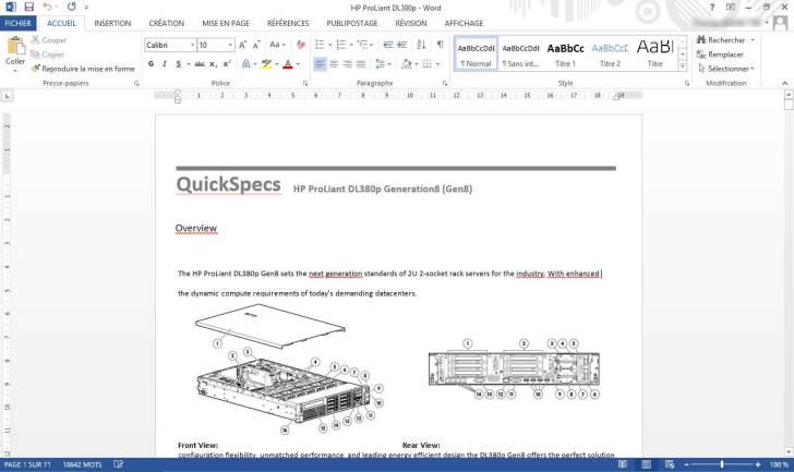 Modifier un document PDF avec Word 2013