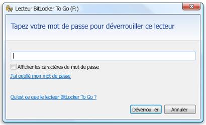 Mot de passe BitLocker