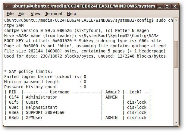 Comment procéder lorsque l'on a perdu le mot de passe de son compte sous Windows 7