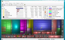 WinDorStat Inventaire Graphique Fichiers Windows