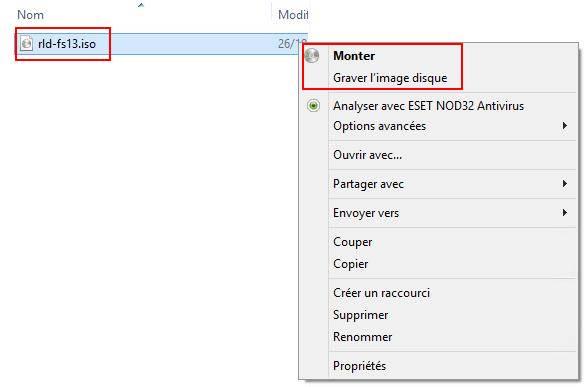 Comment graver une image ISO sous Windows