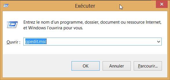Comment désactiver l'écran de verrouillage dans Windows 8