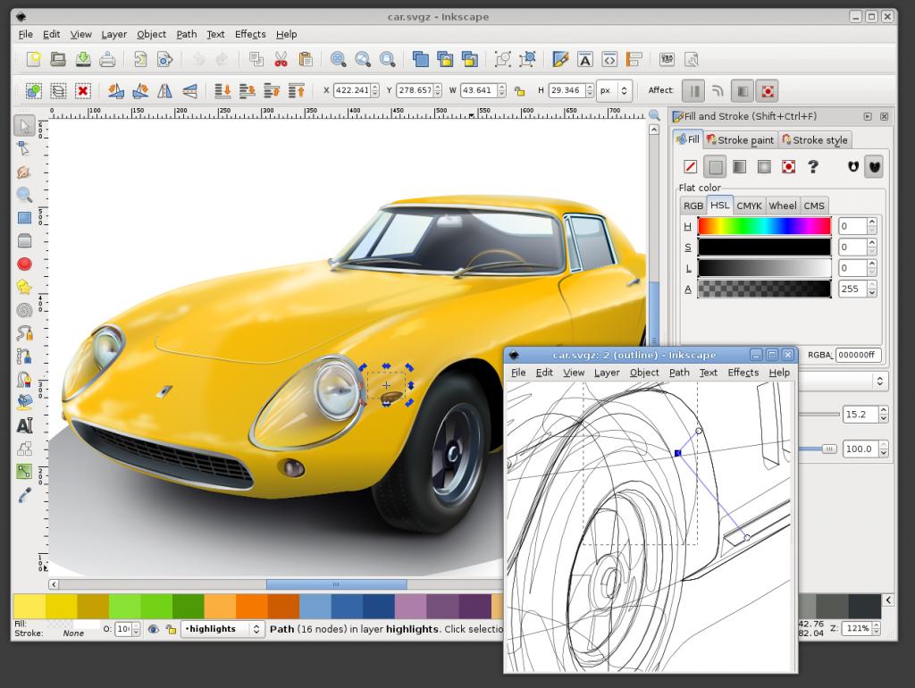 Inkscape : Logiciel d'édition de graphismes vectoriel pour Linux et Windows