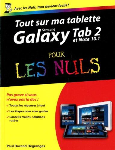 Les 7 livres d'informatique les plus vendus en 2013 - Tout sur ma tablette Samsung Galaxy pour les Nuls