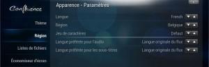 Changer la langue en Français