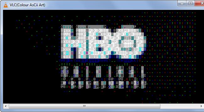 Lire une vidéo en ASCII