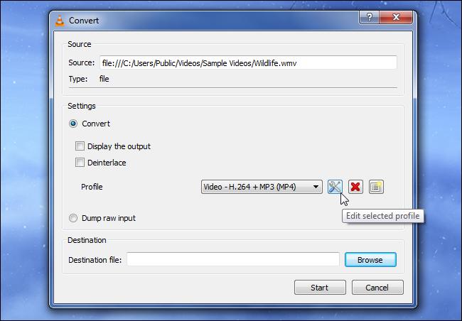Convertir des fichiers multimédias