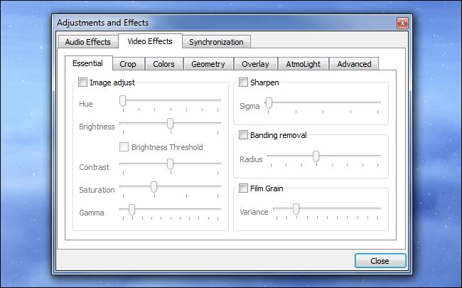 Appliquer des effets vidéo et audio.