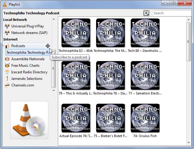 Souscrire à des Podcasts