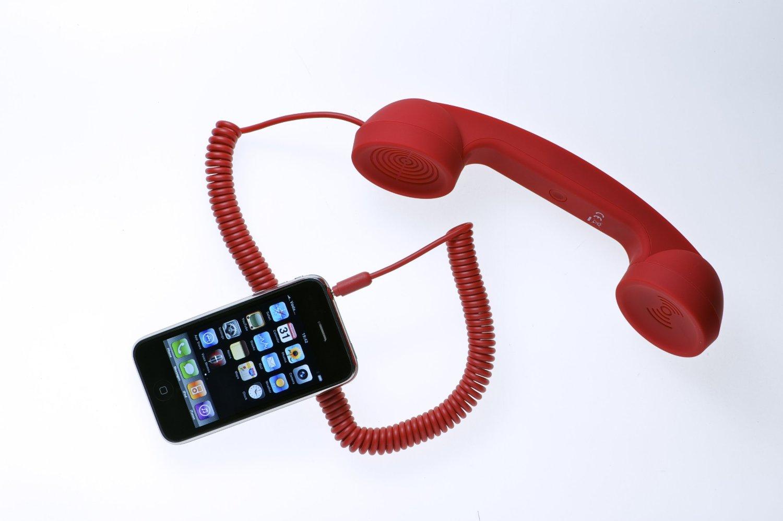 Idée cadeau - Un combiné téléphone rétro compatible iPhone/iPad