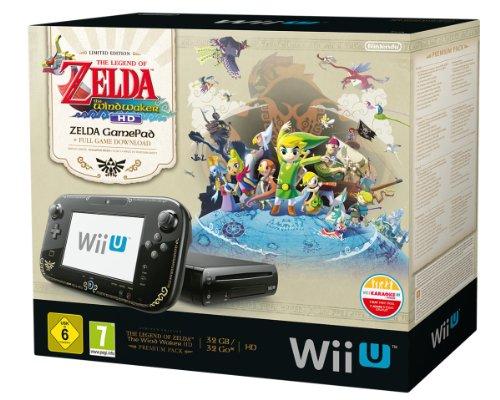 Un pack Console Nintendo Wii U incluant la légende de Zelda à un prix canon