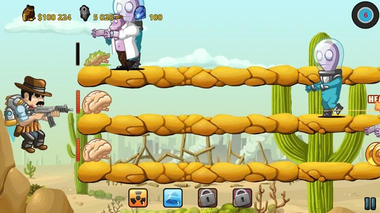 Jeux gratuits - Cowboy Jed Zombie Apocalypse
