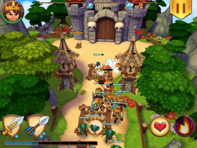 Jeux gratuits - Royal Revolt!