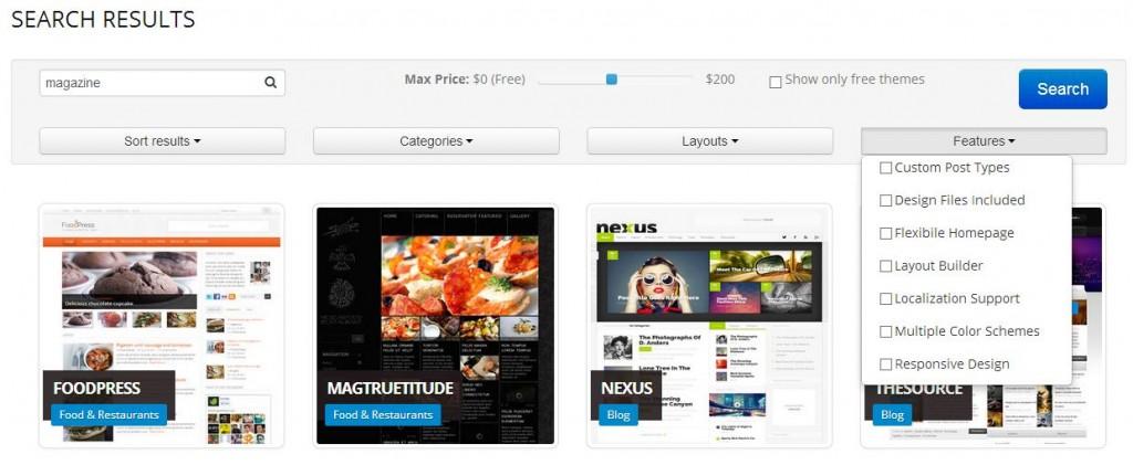 Qlue : Un moteur de recherche dédié aux thèmes WordPress