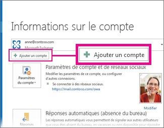 Ajouter son compte Outlook.com dans Outlook 2013
