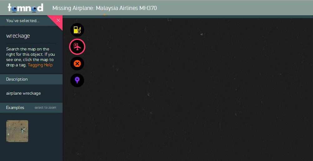 Participez aux recherches du vol MH370