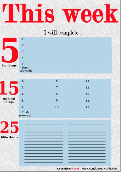 Règles des 1-3-5