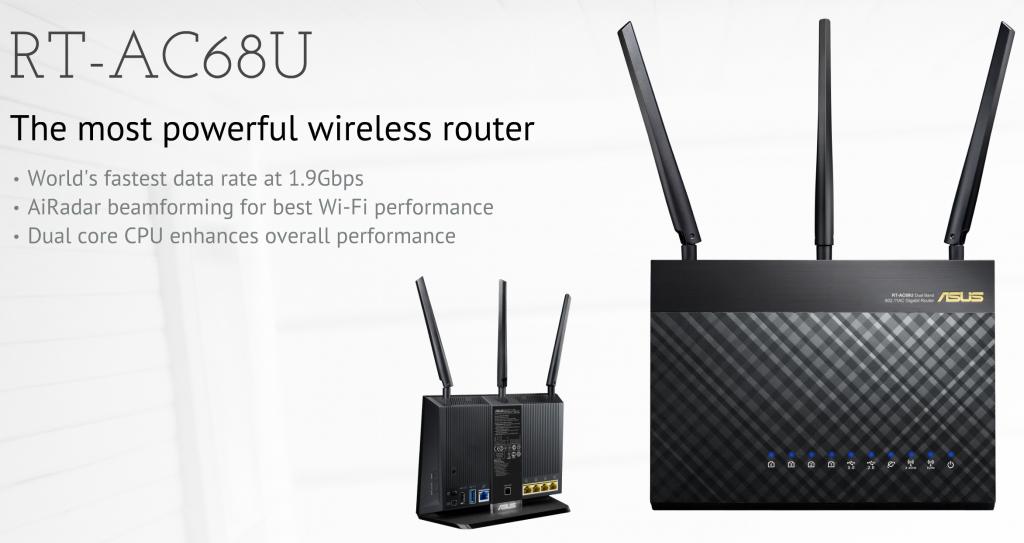 Déclarez la guerre aux réseaux Wifi trop lent avec ce routeur ASUS