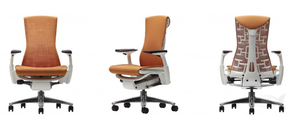 Le fauteuil de bureau Embody de chez Herman Miller