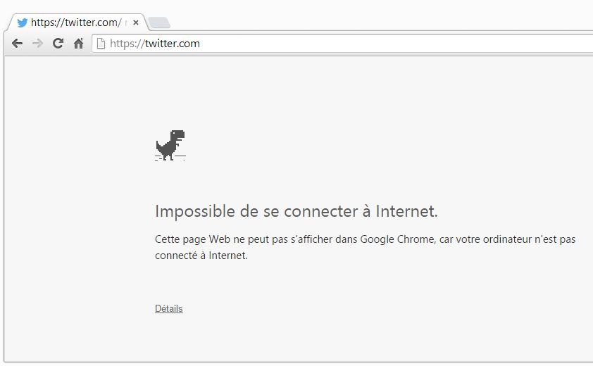 Un petit jeu caché dans Google Chrome Easter Egg]