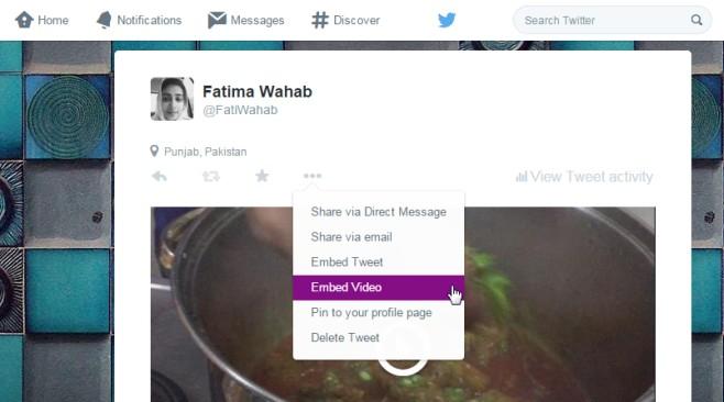 Comment intégrer une vidéo de Tweeter sur votre site Web