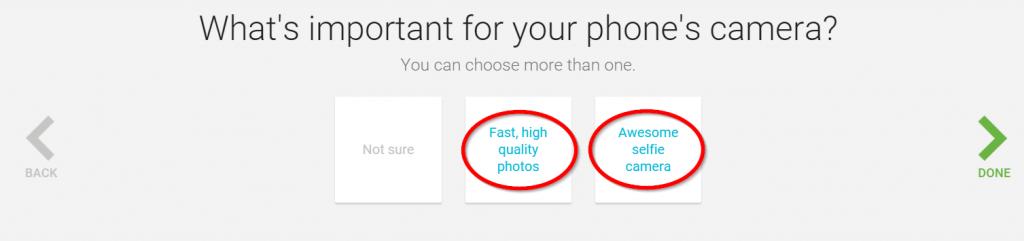 Usages pour choisir son smartphone