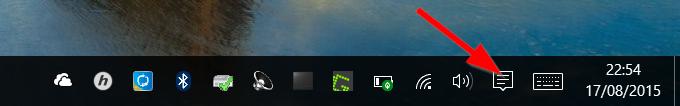 Notification Taskbar