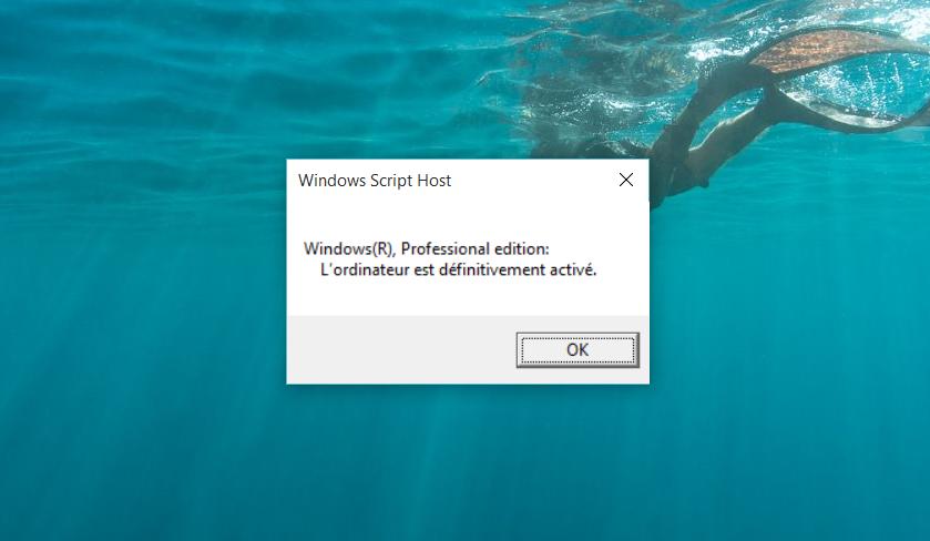 Windows script host activation de windows - Installer office famille et petite entreprise 2013 ...