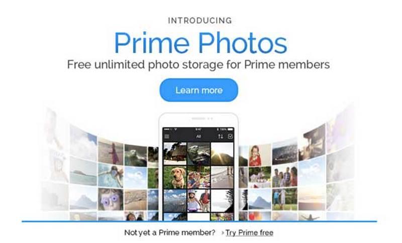 Stockage gratuit et illimité de vos photos