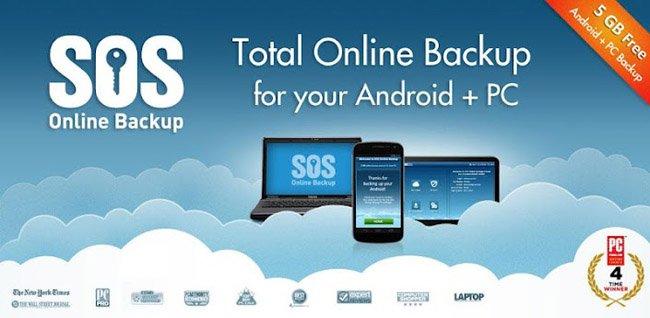 Sauvegarde sur le Cloud - SOS ONLINE BACKUP