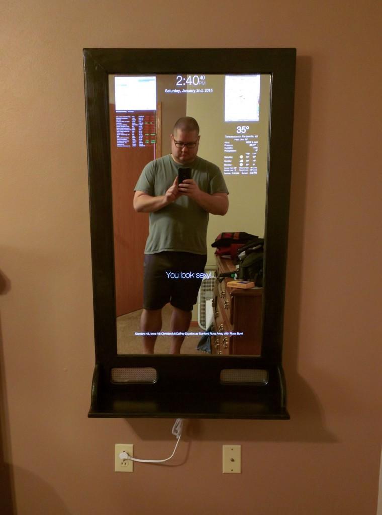 Un miroir magique 4k base de raspberry pi for Raspberry miroir