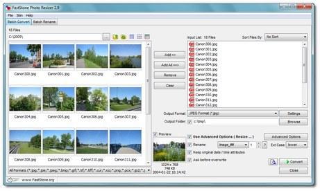 Logiciels gratuit à télécharger : FastStone Photo Resizer