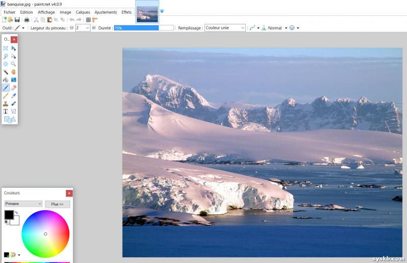 Paint.net est un logiciel d'édition d'images simple et convivial